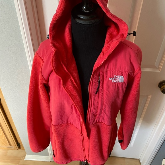 NORTH FACE zip up with hood size M